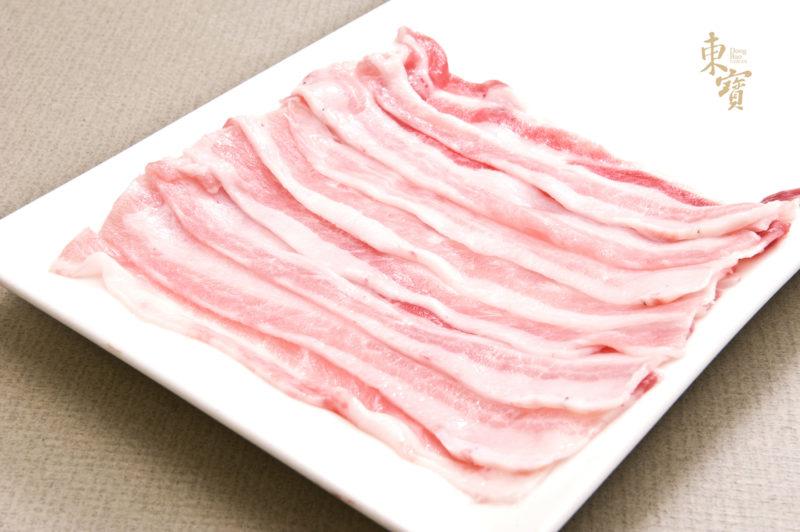 黑豬五花火鍋肉片