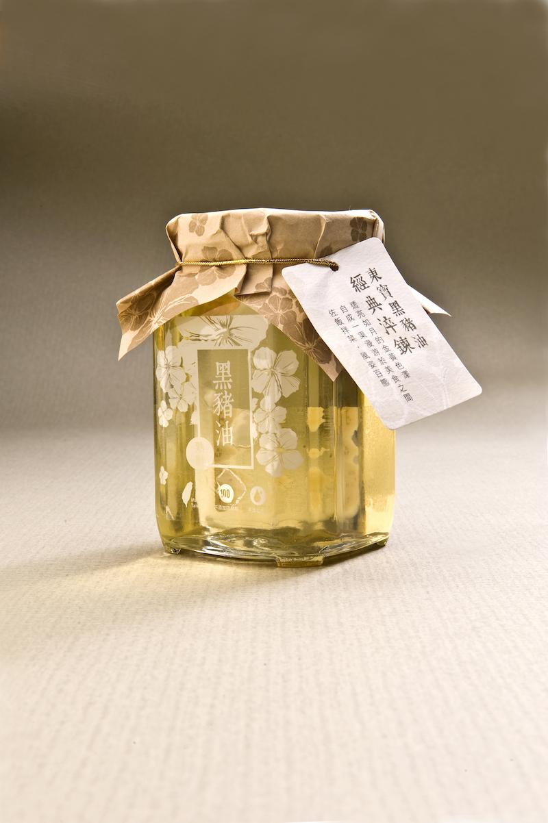 黑豬油-玻璃瓶裝(400ml)