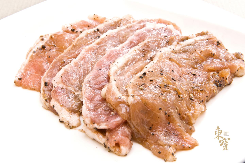 黑豬烤肉片